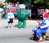 Libby Hill sponsors 4th parade